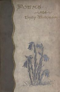 Cover of the First Edition of Dickinson's Poems