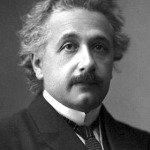 Albert Einstein Nobel Prize portrait