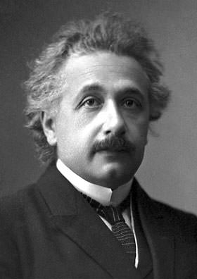 Albert Einstein Nobel Prize portrait