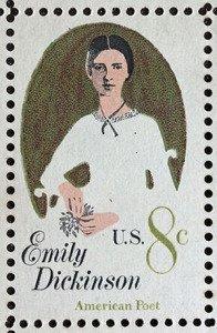 Emily Dickinson Stamp - 1971