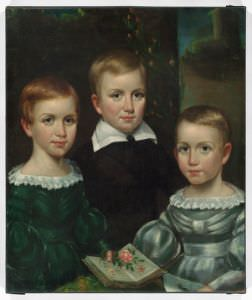 Painting of The Dickinson Children