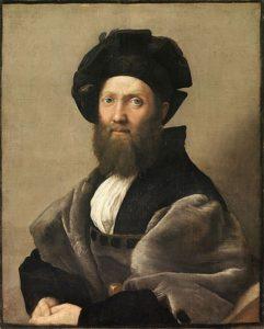 Portrait of Baldassare Castiglione (1515) - Raphael