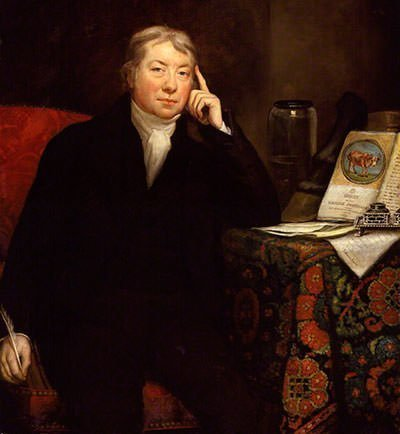 Portrait of Edward Jenner