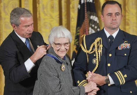 Harper Lee getting Presidential Medal of Freedom