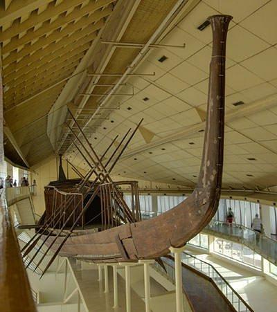 Reconstruction of Khufu Ship
