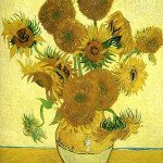 Vase with Fifteen Sunflowers - Vincent Van Gogh