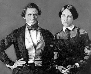 Jefferson Davis and Varina Howell