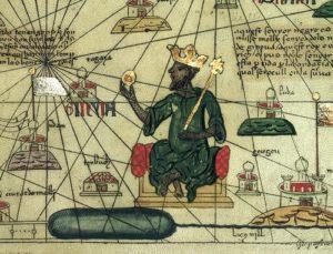 Depiction of Mansa Musa