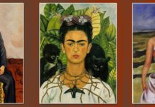 Frida Kahlo Paintings Featured