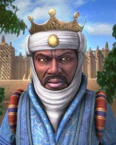 Mansa Musa in video game Civilization IV