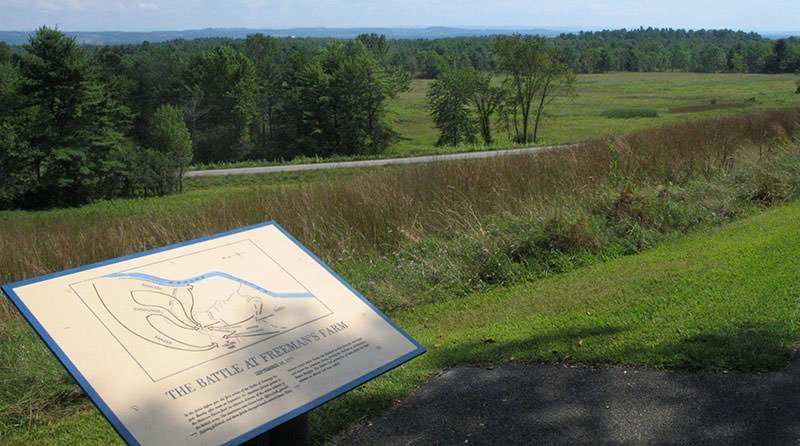 Freeman's Farm battlefield