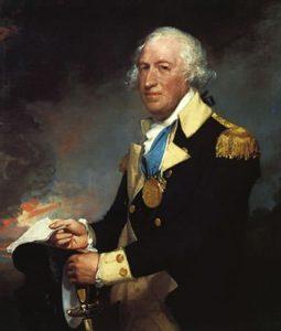 Portrait of General Horatio Gates by Gilbert Stuart