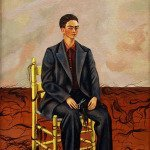 Self-Portrait with Cropped Hair (1940) - Frida Kahlo