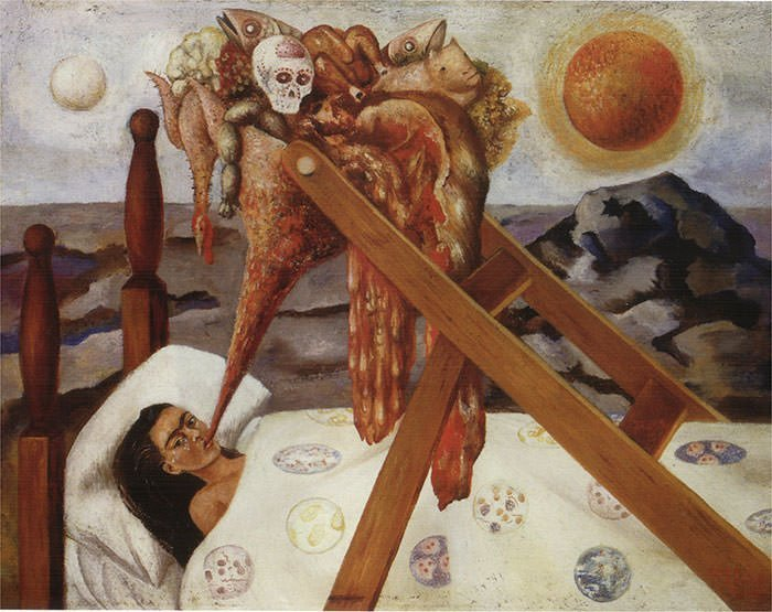 Without Hope (1945) - Frida Kahlo