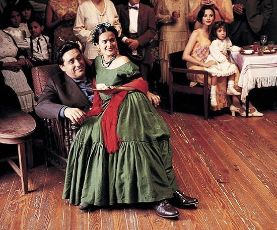 Alfred Molina and Salma Hayek in Frida