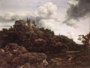 Bentheim Castle - Jacob van Ruisdael
