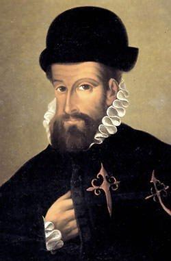 Hernan Cortes pesetas