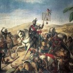 Hernan Cortes in the Spanish conquest of Mexico