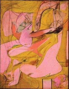 Pink Angels - Willem de Kooning