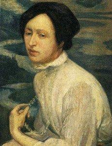 Portrait of Angelina Beloff - Diego Rivera