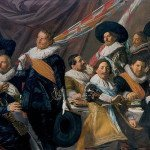 The Banquet of the Officers of the St George Militia Company in 1627 - Frans Hals