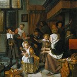 The Feast of Saint Nicholas - Jan Steen