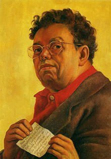 Self-Portrait by Diego Rivera
