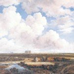 View of Haarlem With Bleaching Fields - Jacob van Ruisdael