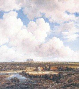 View of Haarlem With Bleaching Fields - Jacob van Ruisdael