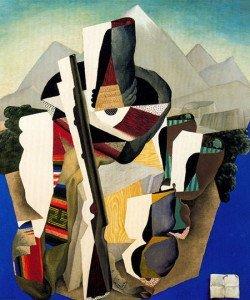 Zapatista Landscape (1915) - Diego Rivera