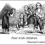 Poor Irish children