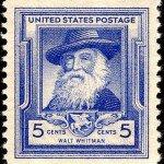 Walt Whitman Postage Stamp