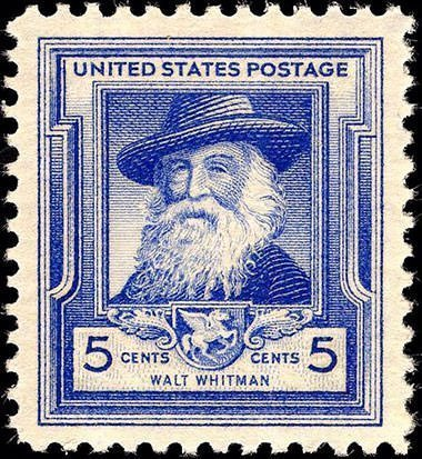 Walt Whitman Postage Stamp