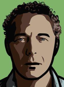 Julian Opie Portrait