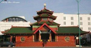 Zheng Hoo Mosque in Indonesia