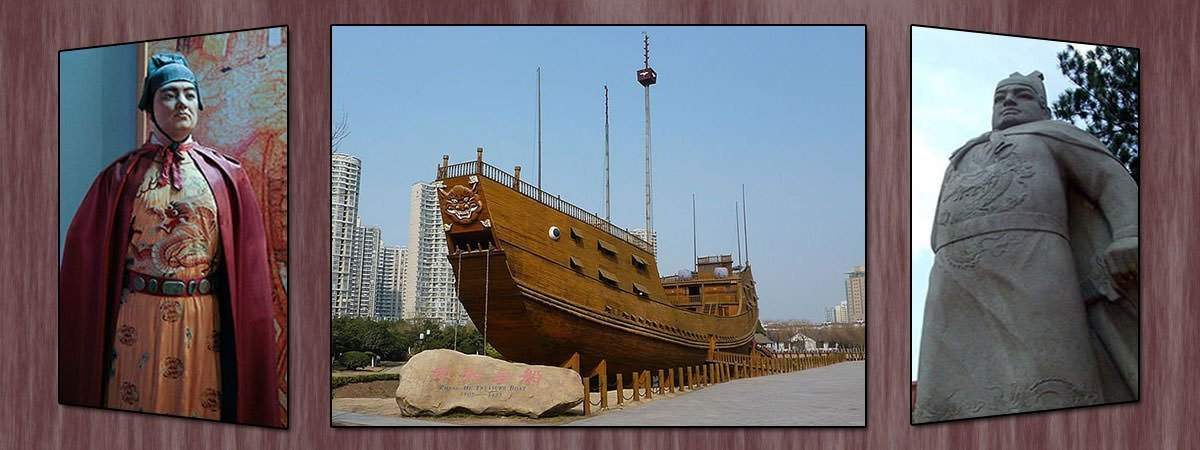 Model of Zheng He's Treasure Ship