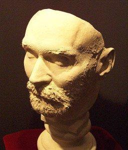 Alfred Nobel's death mask