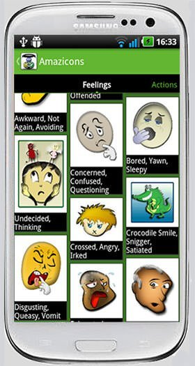 Amazicons Amazing Emoticons