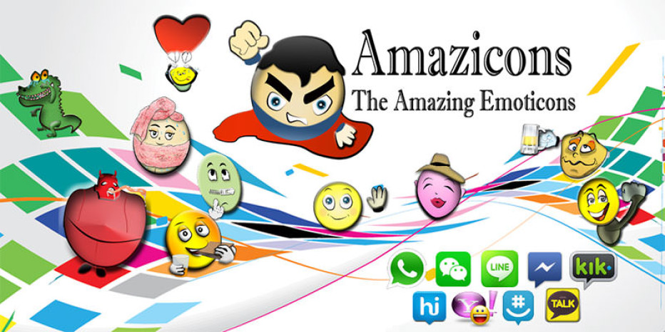 Amazicons | Free Emoticons App For Android