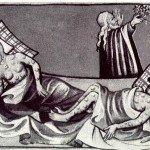 Black Death Illustration