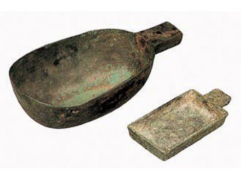 Bronze Measuring Instrument of the Qin Dynasty