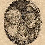 Charles, King James and Queen Anne