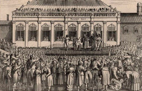 Trial of Charles I in 1649