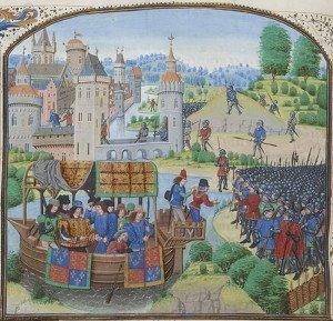 June 14 meeting of King Richard II and the rebels