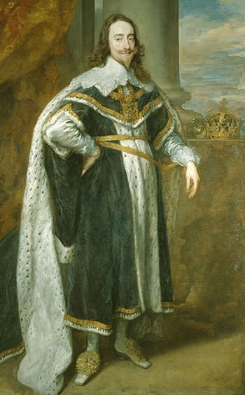 King Charles I by Van Dyck