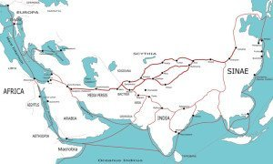 Silk Road in the First Century