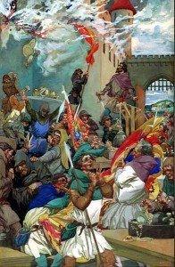 Peasants Revolt Painting