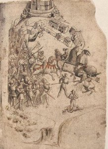 The earliest known image of the Battle of Bannockburn