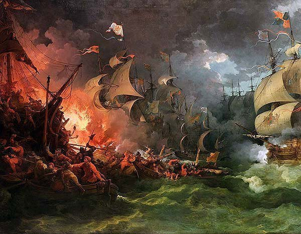 The Battle of Gravelines
