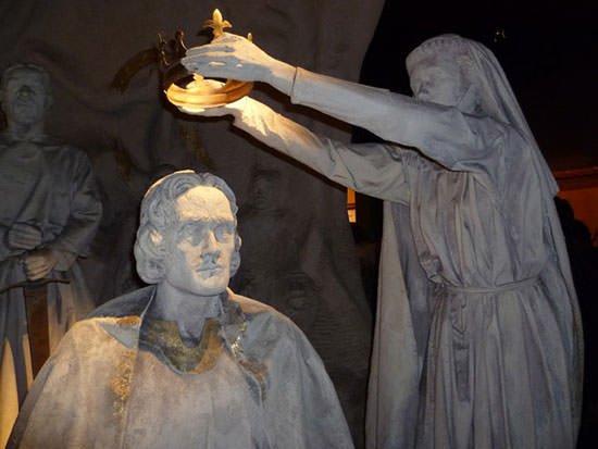 Coronation of Robert The Bruce